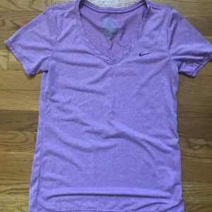 Nike purple dry fit T-shirt-excellent condition
